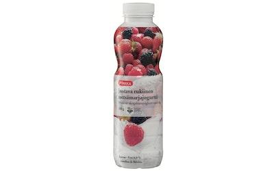 Pirkka rukiinen juotava metsämarjajogurtti 500 g