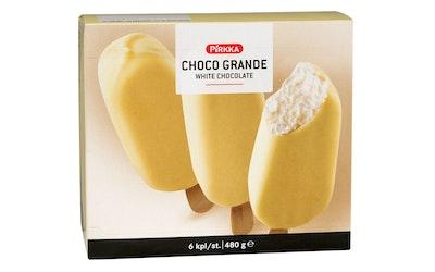 Pirkka Choco Grande valkosuklaa 6kpl/480g