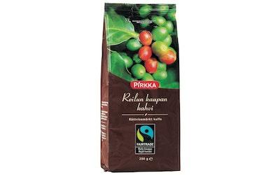 Pirkka Reilun kaupan kahvi 250g suodatinjauhatus