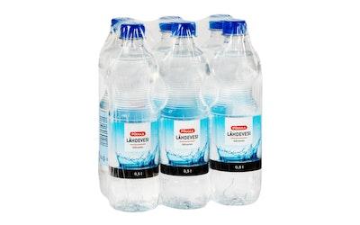 Pirkka lähdevesi 0,5l 6-pack