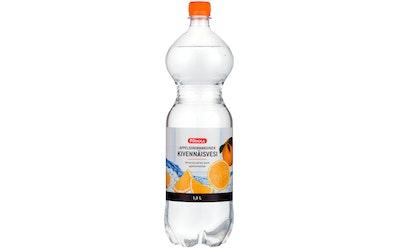 Pirkka appelsiininmakuinen kivennäisvesi 1,5l