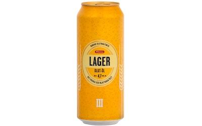 Pirkka lager-olut 4,7% 0,5l