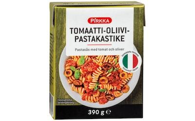 Pirkka tomaatti-oliivipastakastike 390g