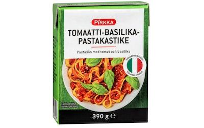Pirkka tomaatti-basilikapastakastike 390g