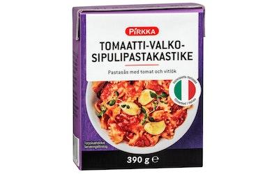 Pirkka tomaatti-valkosipulipastakastike 390g