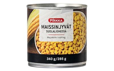Pirkka maissinjyvät suolaliemessä 340g/285g