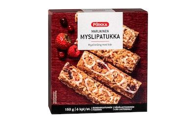 Pirkka marjainen myslipatukka 6kpl/150g