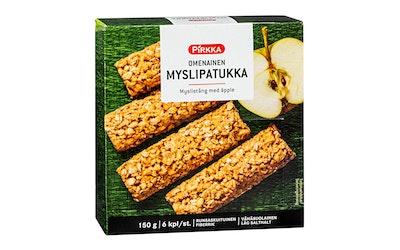 Pirkka omenainen myslipatukka 6kpl/150g