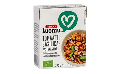 Pirkka Luomu tomaatti-basilikapastakastike 390g
