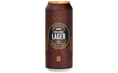 Pirkka tumma lager-olut 4,7% 0,5l