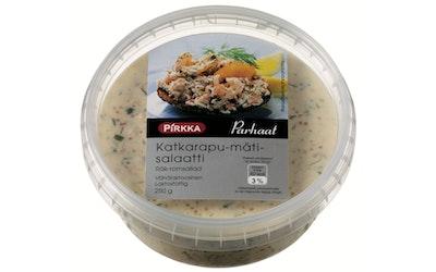 Pirkka katkarapu-mätisalaatti 250g