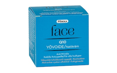 Pirkka Face Q10 yövoide 50ml anti-wrinkle