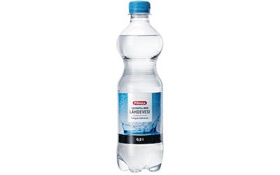 Pirkka hiilihapollinen lähdevesi 0,5l