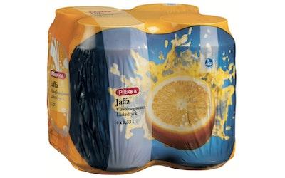 Pirkka Jaffa appelsiinivirvoitusjuoma 4 x 0,33l