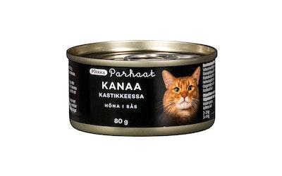 Pirkka Parhaat kanaa kastikkeessa kissalle 80 g
