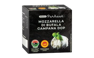 Pirkka Parhaat Mozzarella di Bufala Campana 220g/125g vähälaktoosinen - kuva