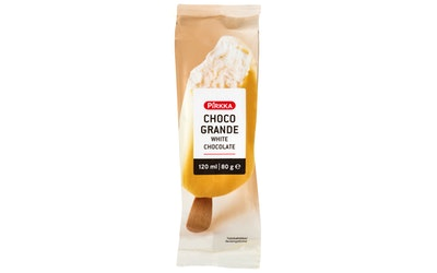 Pirkka Choco Grande valkosuklaa 80g/120ml