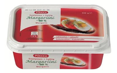 Pirkka margariini suolainen 60% 400 g
