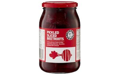 Euro Shopper viipaloituja punajuuria mausteliemessä 1000 g, josta punajuuria 650 g