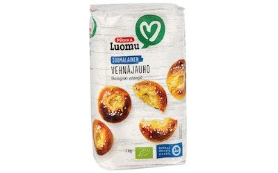 Pirkka Luomu suomalainen vehnäjauho 1kg
