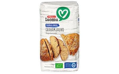 Pirkka Luomu suomalainen grahamjauho 1kg