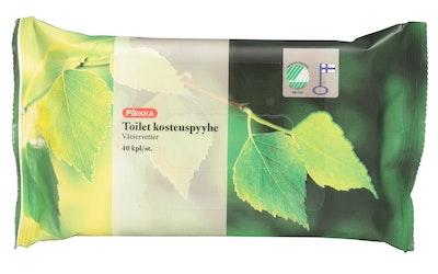 Pirkka toilet kosteuspyyhe 40 kpl