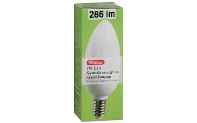 Pirkka kynttilä energiansäästölamppu 7W E14 286 lm