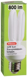 Pirkka energiansäästölamppu 14W E27 800 lm