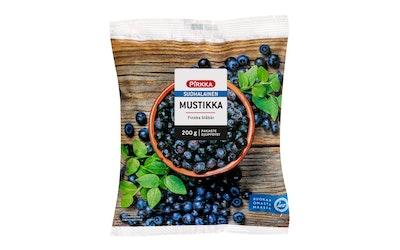 Pirkka suomalainen mustikka 200 g pakaste