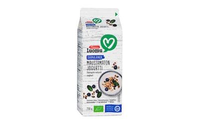 Pirkka Luomu maustamaton jogurtti 750 g