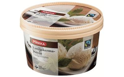 Pirkka Reilun kaupan vaniljakermajäätelö 0,5l