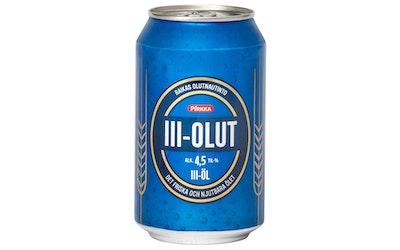 Pirkka III-olut 4,5% 0,33l - kuva
