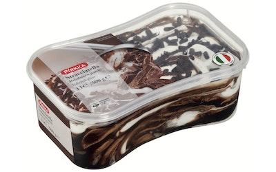 Pirkka stracciatella italialainen jäätelö 1 l /500 g