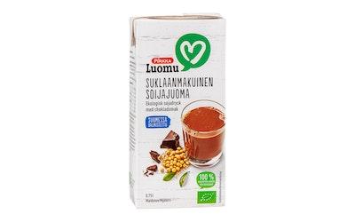 Pirkka Luomu suklaanmakuinen soijajuoma 0,75 l