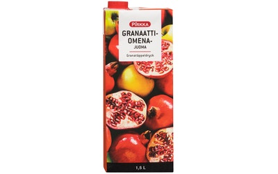 Pirkka granaattiomenajuoma 1,5l