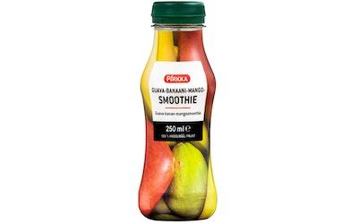Pirkka smoothie guava-banaani-mango 0,25l