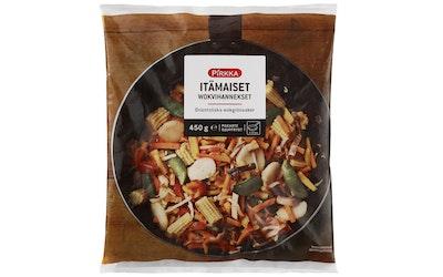 Pirkka itämaiset wokvihannekset 450 g pakaste