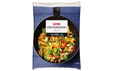 Pirkka wokvihannekset 450g pakaste