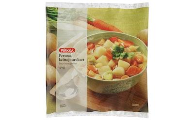 Pirkka peruna-keittojuurekset 750g pakaste