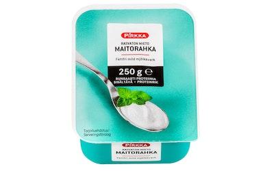 Pirkka rasvaton mieto maitorahka 250 g