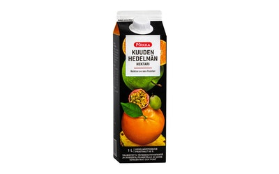 Pirkka kuuden hedelmän nektari 1 l