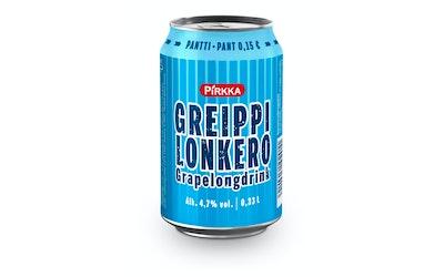 Pirkka Greippilonkero 4,7% 0,33l
