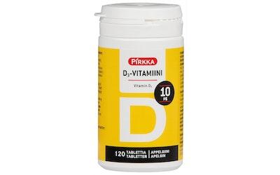 Pirkka D3-vitamiini 10µg 120kpl/47g