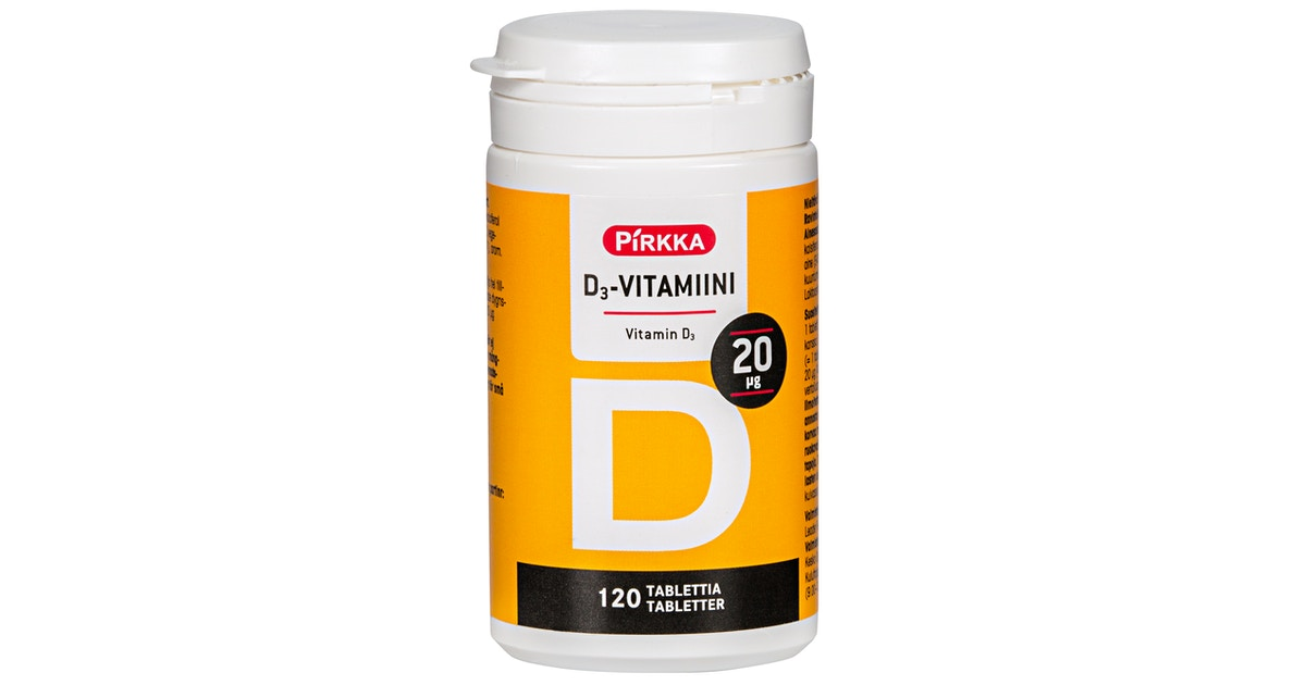 D Vitamiini Ruoka