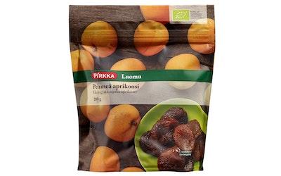 Pirkka Luomu pehmeä aprikoosi 200g