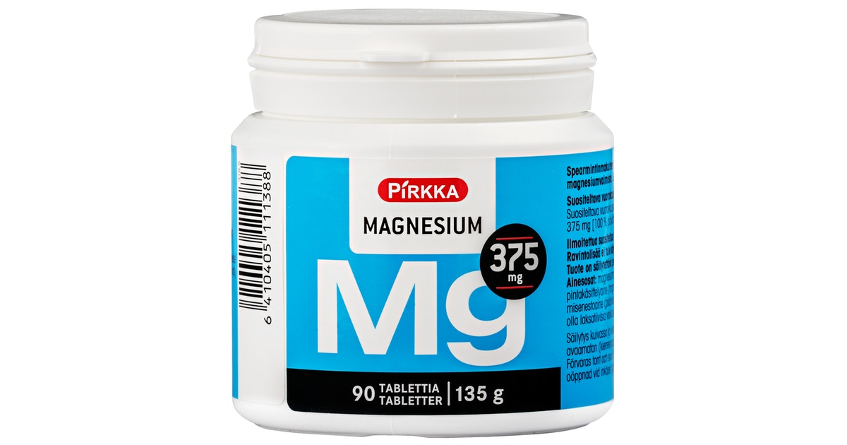 Magnesium Ruoka