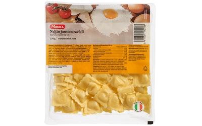 Pirkka neljän juuston ravioli 250g