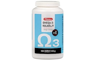 Pirkka omega-3-kalaöljy + E 150kpl/132 g