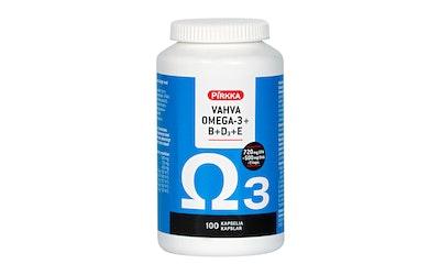 Pirkka omega-3-kalaöljy + BDE 100kpl/137g