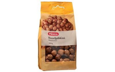 Pirkka hasselpähkinä 150g